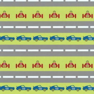 P&S Wallcoverings Childrens Cars Wallpaper Sample