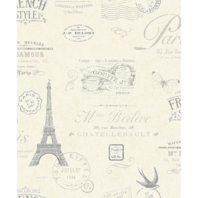 Crown Wallcoverings Parisian Heavyweight Vinyl Wallpaper M1075 Sample