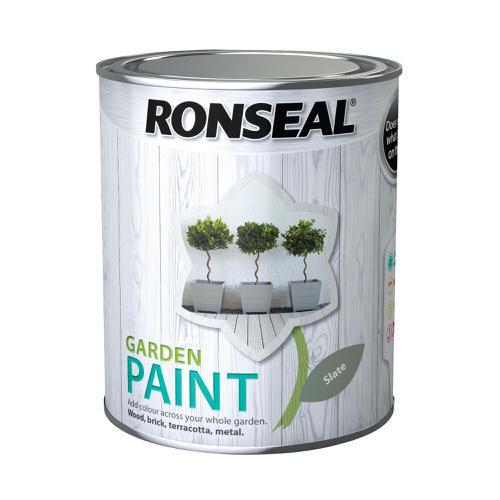 Ronseal Garden Paint Slate Green 750ml