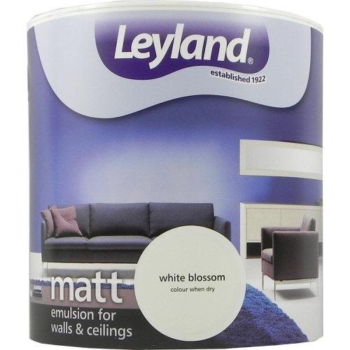 Leyland Vinyl Matt Emulsion White Blossom 2.5 Litre
