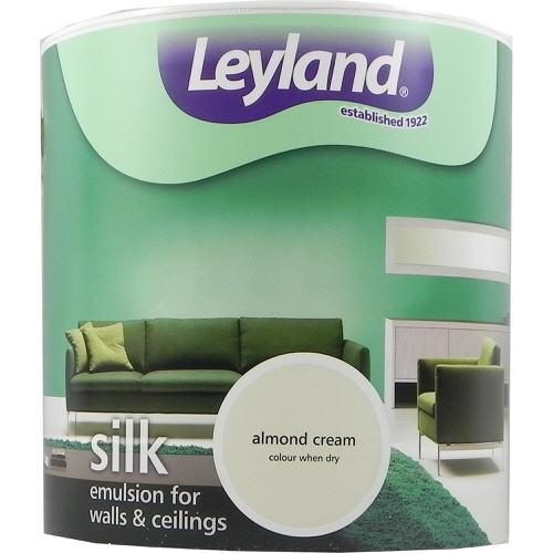 Leyland Vinyl Silk Emulsion Almond Cream 2.5 Litre