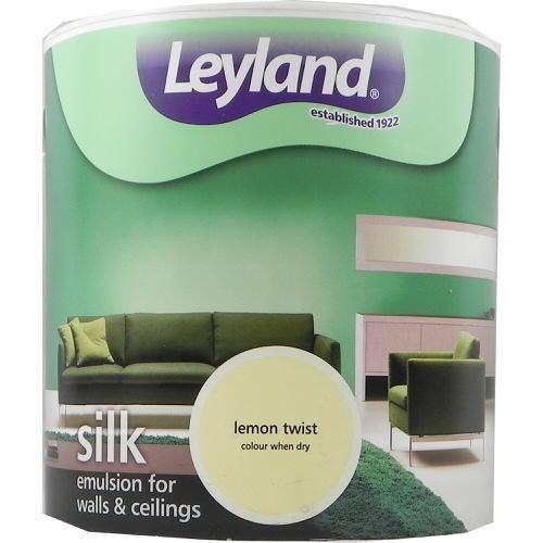 Leyland Vinyl Silk Emulsion Lemon Twist 2.5 Litre