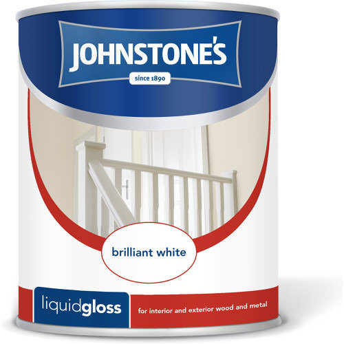 Johnstones Liquid Gloss Brilliant White 2.5 Litre