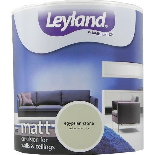 Leyland Vinyl Matt Emulsion Egyptian Stone 2.5 Litre
