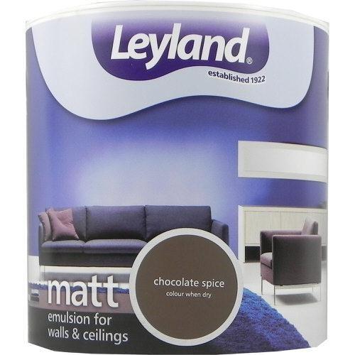 Leyland Vinyl Matt Emulsion Chocolate Spice 2.5 Litre