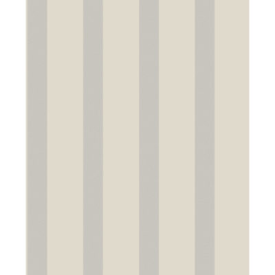 Fine Decor Wallcoverings Sparkle Stripe Putty and Silver DL40197 Sample
