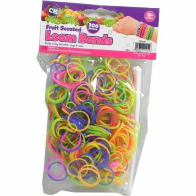 Glitter Loom Bands Pack of 300