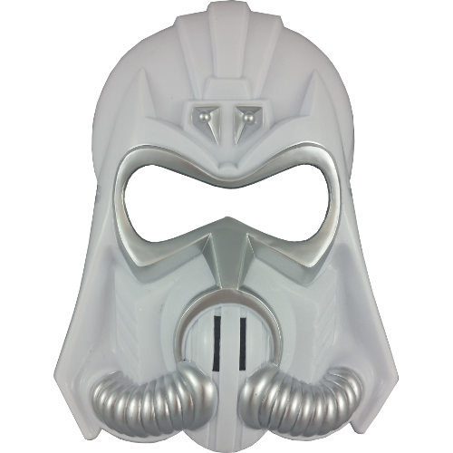 Galaxy Wars Space Mask White
