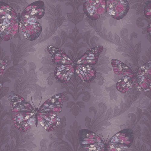 Arthouse Enchantment Wallpaper Midsummer Plum 661205 Full Roll
