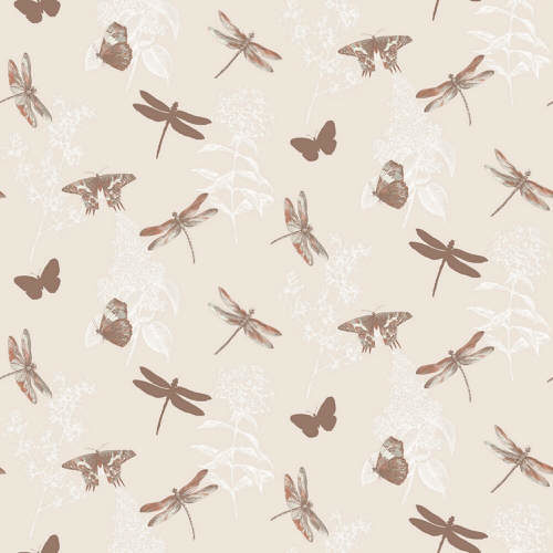 Arthouse Enchantment Wallpaper Enchanted Wings Copper 664901 Full Roll