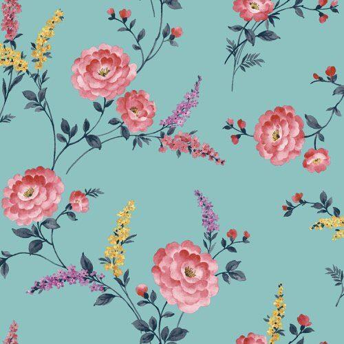 Sophie Conran Posie Wallpaper Azure 950806