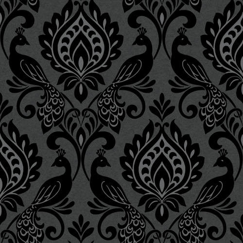 Arthouse Boutique Borromeo Wallpaper Black 952600 Full Roll
