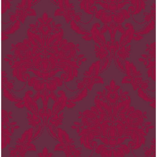 Sophie Conran Palais Genuine Velvet Flock Wallpaper Red 980607 Full Roll