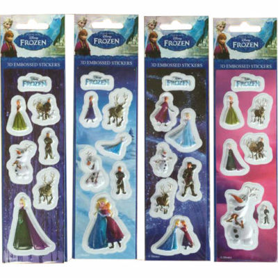 Disney Frozen 3D Embossed Stickers