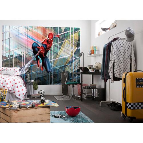254 x 184cm Spider-Man Rush Mural