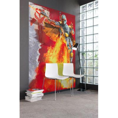 184 x 254cm Star Wars Boba Fett Mural