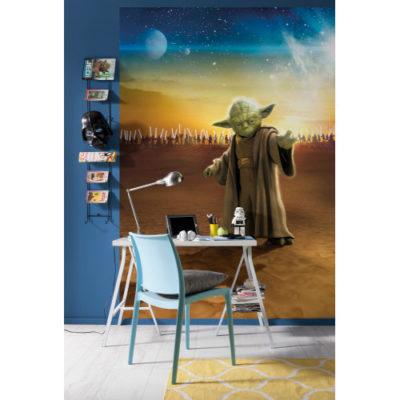 184 x 254cm Star Wars Master Yoda Mural