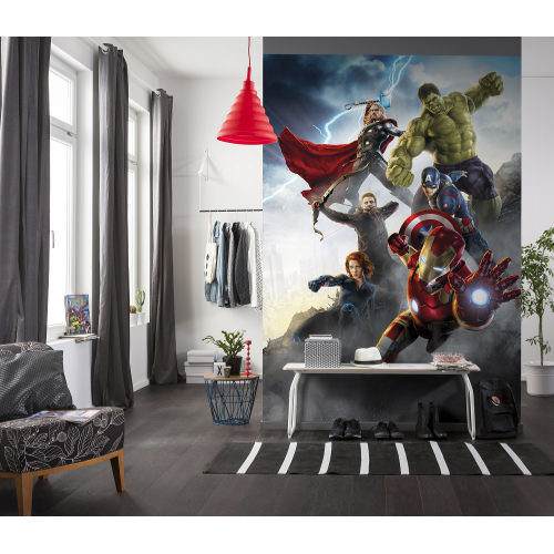 184 x 254cm Avengers Age Of Ultron Mural