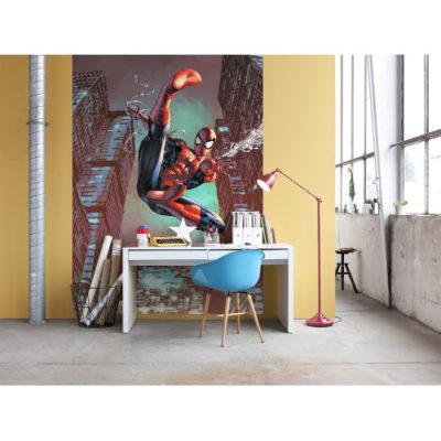 184 x 254cm Spider-Man Jump Mural