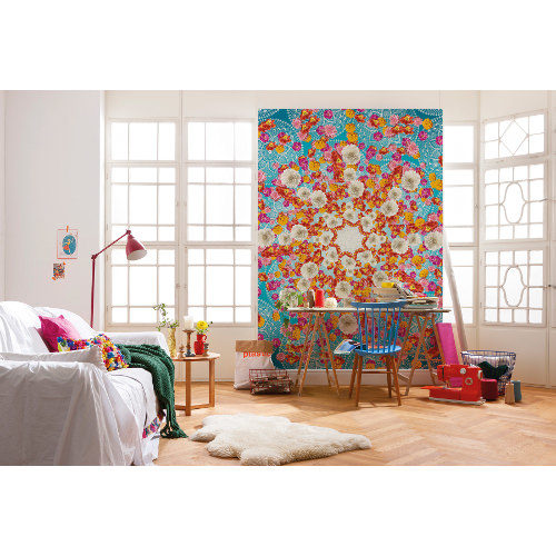 184 x 254cm Happiness Wall Mural