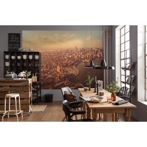 254 x 184cm Manhattan Mural