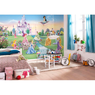 368 x 254cm Princess Castle Mural