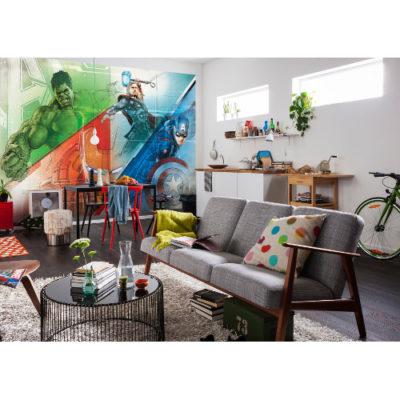 368 x 254cm Avengers Graphic Art Mural