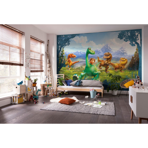 368 x 254cm The Good Dinosaur Mural