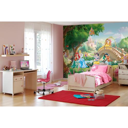 368 x 254cm Princess Palace Pets Mural