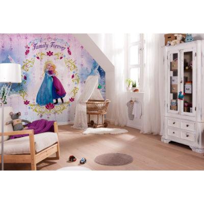368 x 254cm Frozen Family Forever Mural