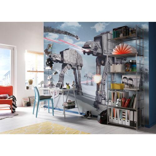 368 x 254cm Star Wars Battle Of Hoth Mural