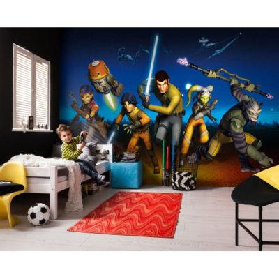 368 x 254cm Star Wars Rebels Run Mural