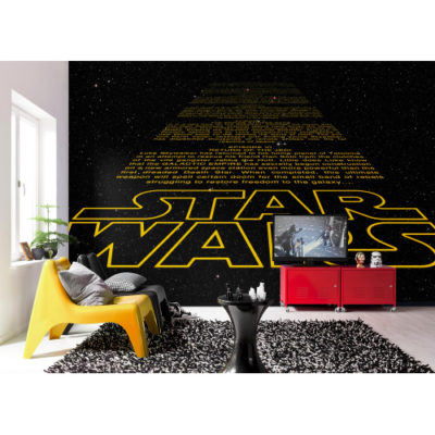 368 x 254cm Star Wars Intro Mural