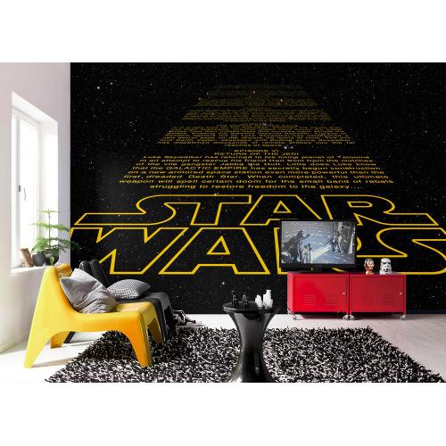368 x 254cm Star Wars Intro Mural