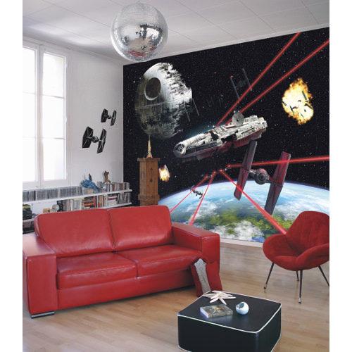 368 x 254cm Star Wars Millennium Falcon Mural