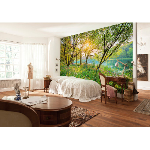 368 x 254cm Spring Lake Mural
