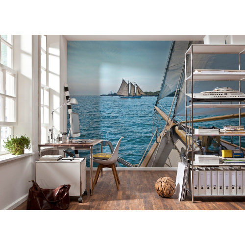 368 x 254cm Sailing Mural