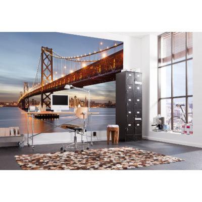 368 x 254cm Bay Bridge Mural
