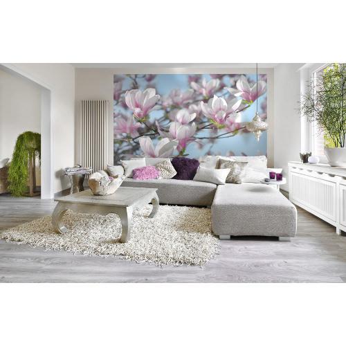 368 x 254cm Magnolia Wall Mural