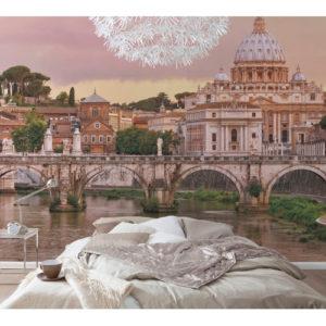 368 x 254cm Rome Mural