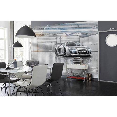 368 x 254cm Audi R8 Le Mans Mural