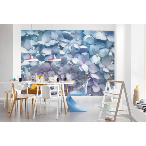 368 x 254cm Light Blue Wall Mural