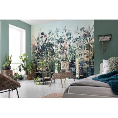 368 x 254cm Urban Jungle Wall Mural