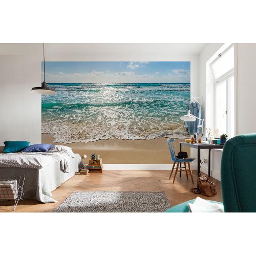 368 x 254cm Seaside Mural