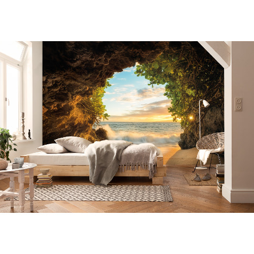 368 x 254cm Hide Out Mural