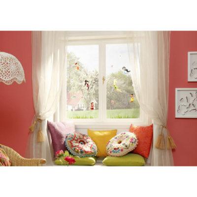 31 x 31cm Fairies Window Sticker Mural