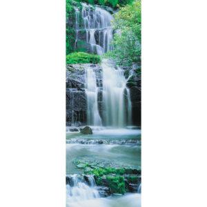92 x 220cm Pura Kaunui Falls Mural