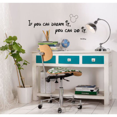 50 x 70cm Disney You Can Do It Mural