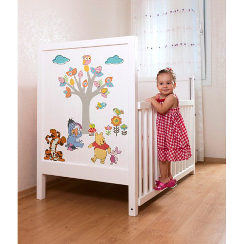 50 x 70cm Winnie The Pooh Nature Lovers Mural