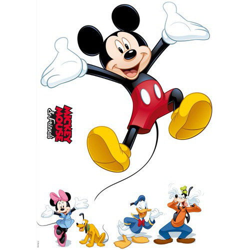 50 x 70cm Mickey And Friends Mural